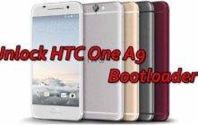 Unlock HTC One A9 Bootloader