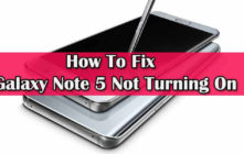 Fix Galaxy Note 5 Not Turning On
