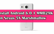 Install Android 6.0.1 MMB29K On Nexus 5X Marshmallow