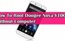 Root Doogee Nova Y100X