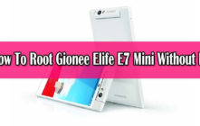 Safely Root Gionee Elife E7 Mini
