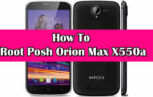 Safely Root Posh Orion Max X550a