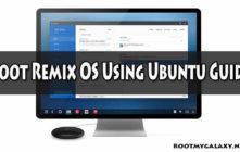 Root Remix OS Using Ubuntu Guide