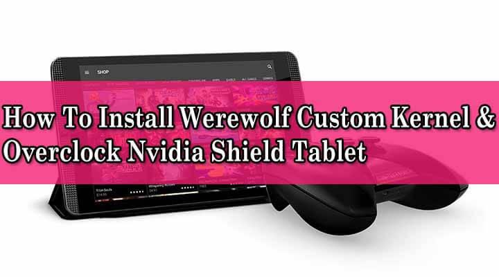 Install Werewolf Custom Kernel & Overclock Nvidia Shield Tablet