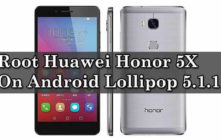 Root Huawei Honor 5X On Android Lollipop 5.1.1 With SuperSu