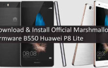 Download & Install Official Marshmallow Firmware B550 Huawei P8 Lite