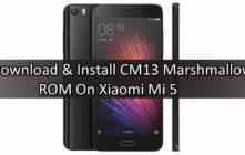 CM13 Marshmallow ROM On Xiaomi Mi 5
