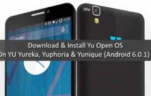 Yu OS For YU Yureka, Yuphoria & Yunique