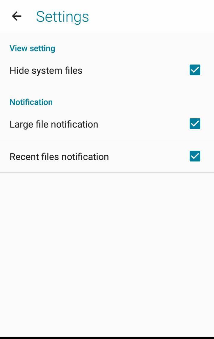 Hide Hidden Files