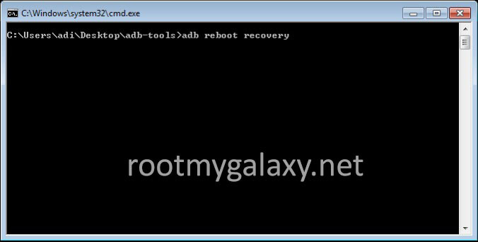Boot Into Android Recovery ADB Way