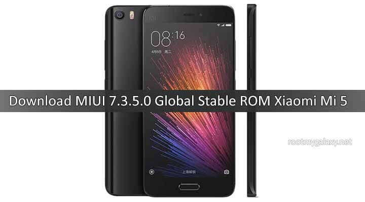 Download MIUI 7.3.5.0 Global Stable ROM for Xiaomi Mi 5