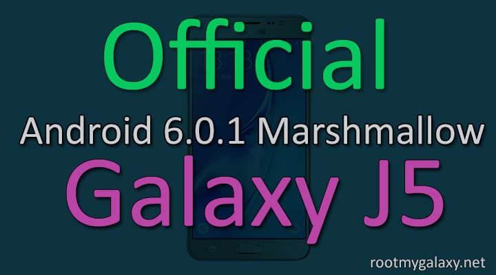 Install Official Marshmallow 6.0.1 On Samsung Galaxy J5
