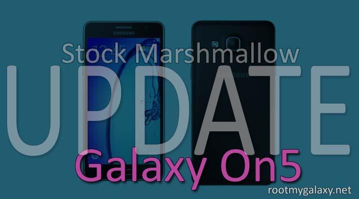 Marshmallow 6.0.1 On Samsung Galaxy On5