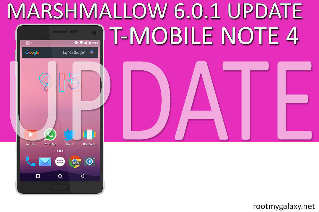 Install N910TUVU2EPE3 Marshmallow On T-Mobile Note 4
