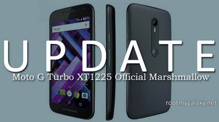 Download Moto G Turbo XT1225 Official Marshmallow