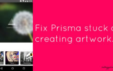 Fix Prisma stuck at creating artwork