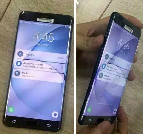 Galaxy Note 7 Leaks