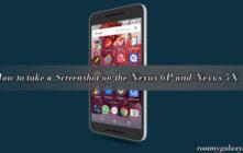 Guide to take a Screenshot on the Nexus 6P and Nexus 5X