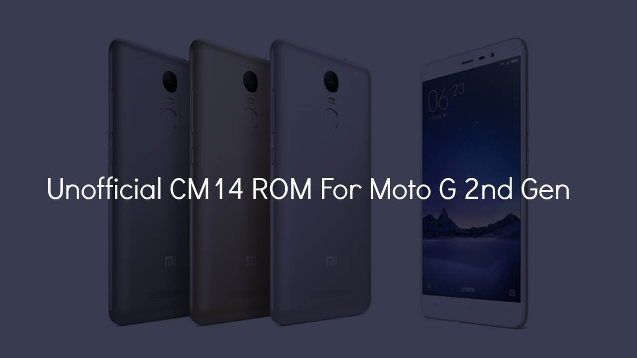 Install CM14 Nougat ROM On Redmi Note 3 Android 7.0