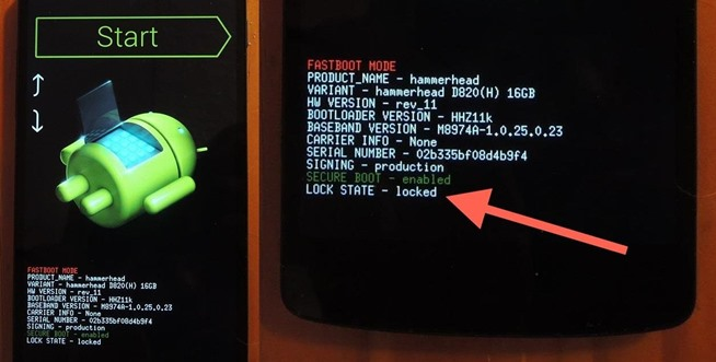 Relock Bootloader via Fastboot on Android