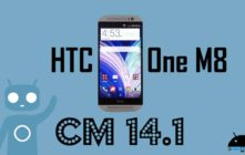 Download and Install Official CM 14.1 on HTC M8