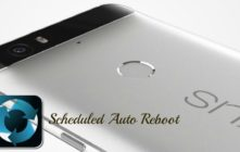 Schedule An Auto Reboot On Android