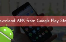 APPs APK from Google Play Store