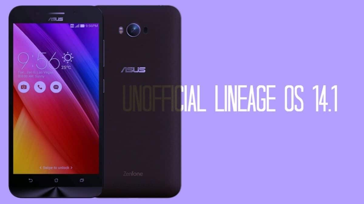Unofficial Lineage Os 14.1 For Asus Zenfone Max