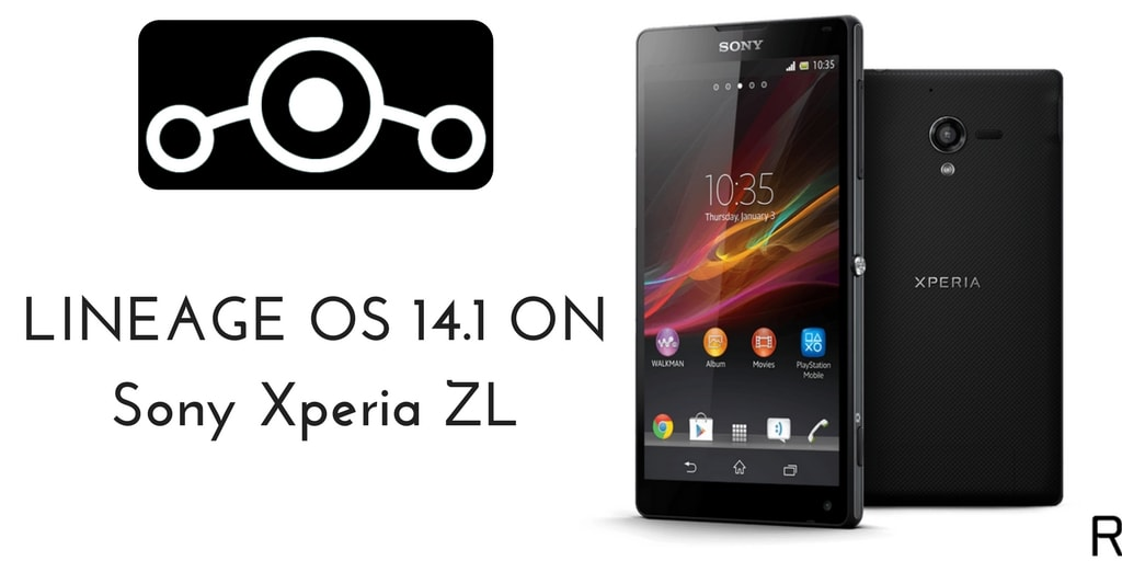 LINEAGE OS 14.1 ON Sony Xperia ZL
