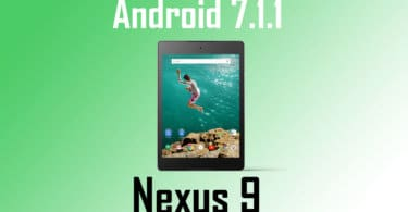 Manually Update Google Nexus 9 to NMF26F (Android 7.1.1)