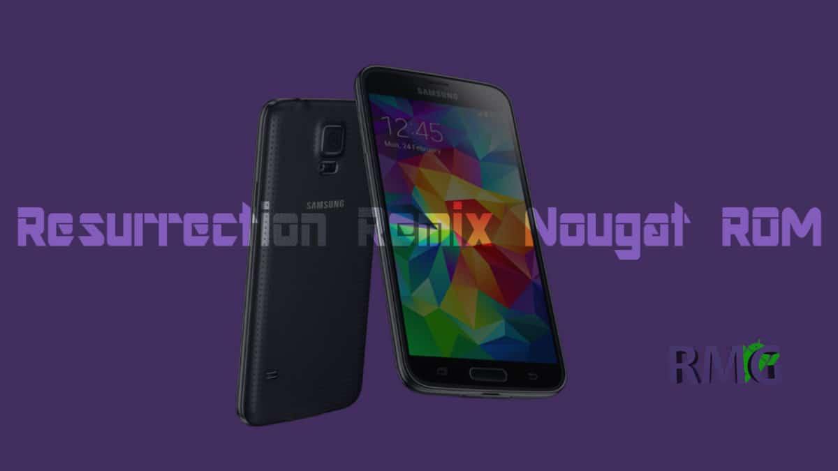 Resurrection Remix On Galaxy S5