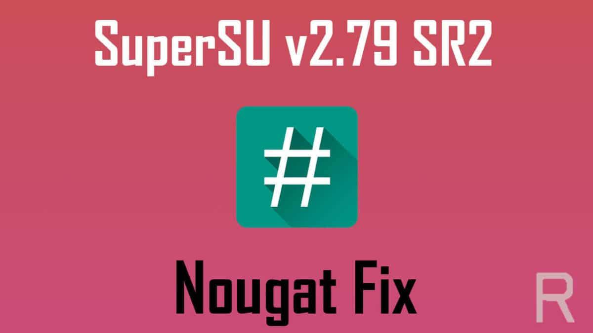 SuperSU v2.79 SR2 released