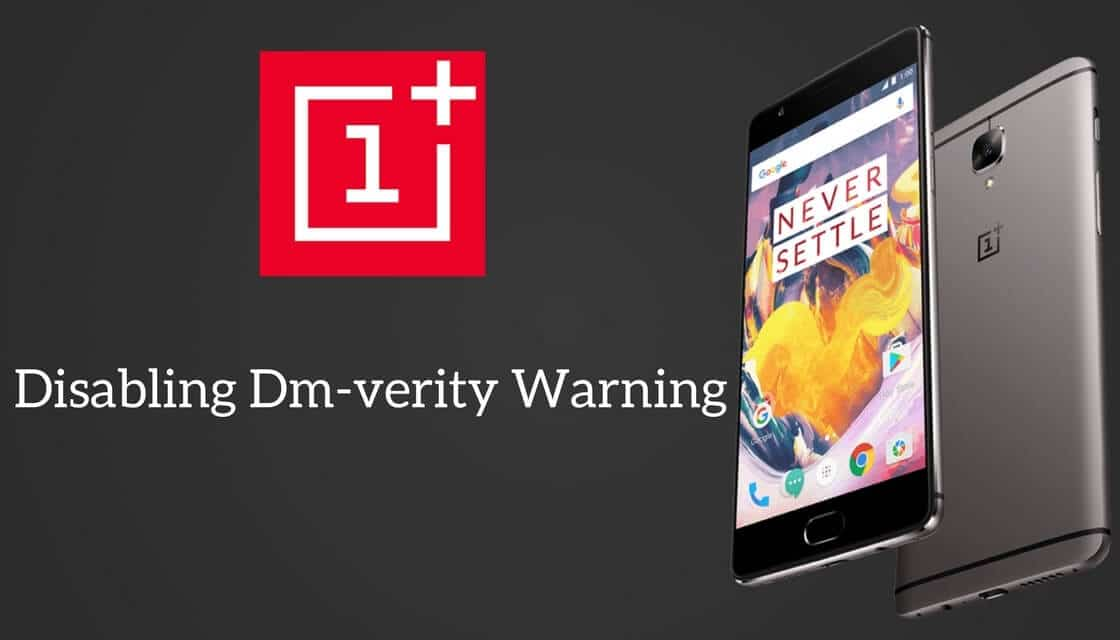 Dm-verity Warning