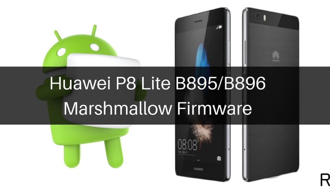 Huawei P8 Lite B895%2FB896 Marshmallow Firmware