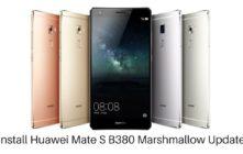 Huawei Mate S B380 Marshmallow