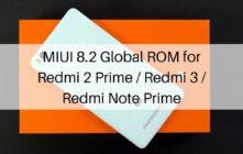 MIUI 8.2 Global ROM