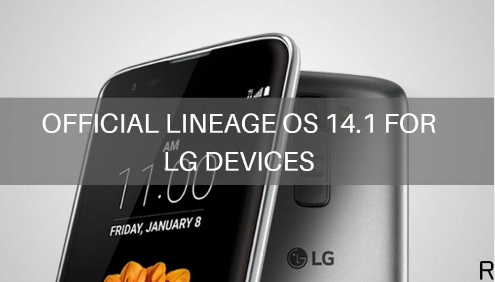 official Lineage OS 14.1 on LG devices