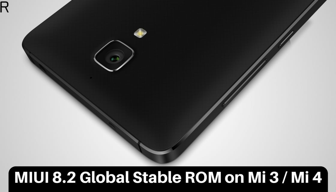 MIUI 8.2 Global Stable ROM on Mi 3