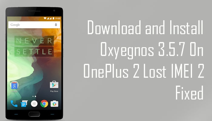 Oxyegnos 3.5.7 On OnePlus 2