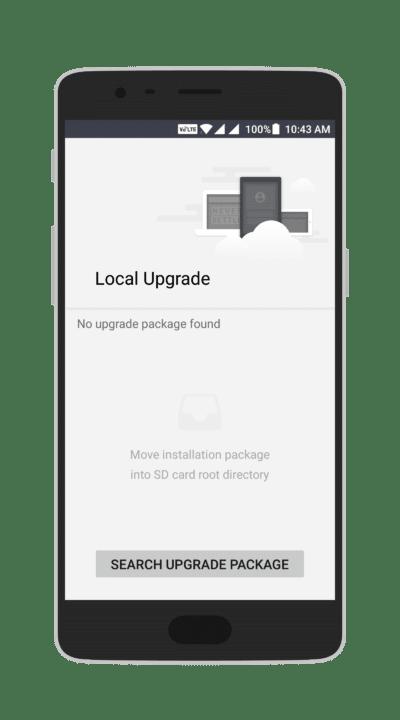Local Upgrade