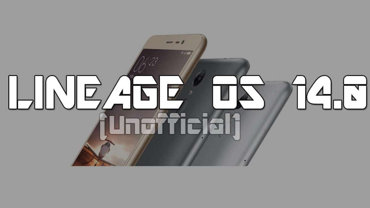 Download and Install Unofficial Lineage OS 14.1 for Redmi Note 4