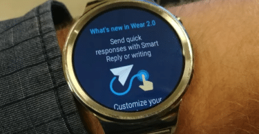 Huawei Watch Android Wear 2.0 Update