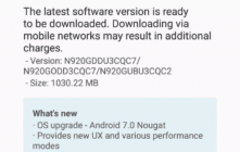 Samsung Galaxy Note 5 getting Nougat update in India.