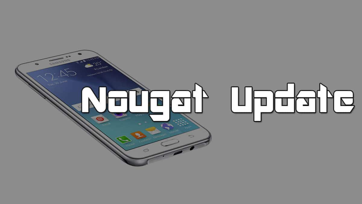 Update Samsung Galaxy J7 to Android 7.1 Nougat