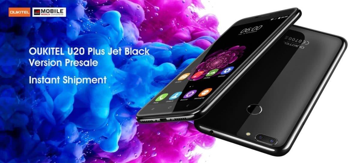 UKITEL releases K10000 Pro, K6000 Plus and U20 Plus Jet Black version on MWC 2017