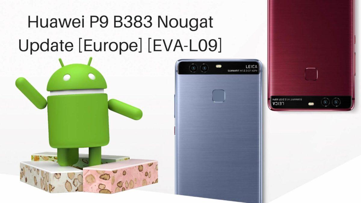 Huawei P9 B383