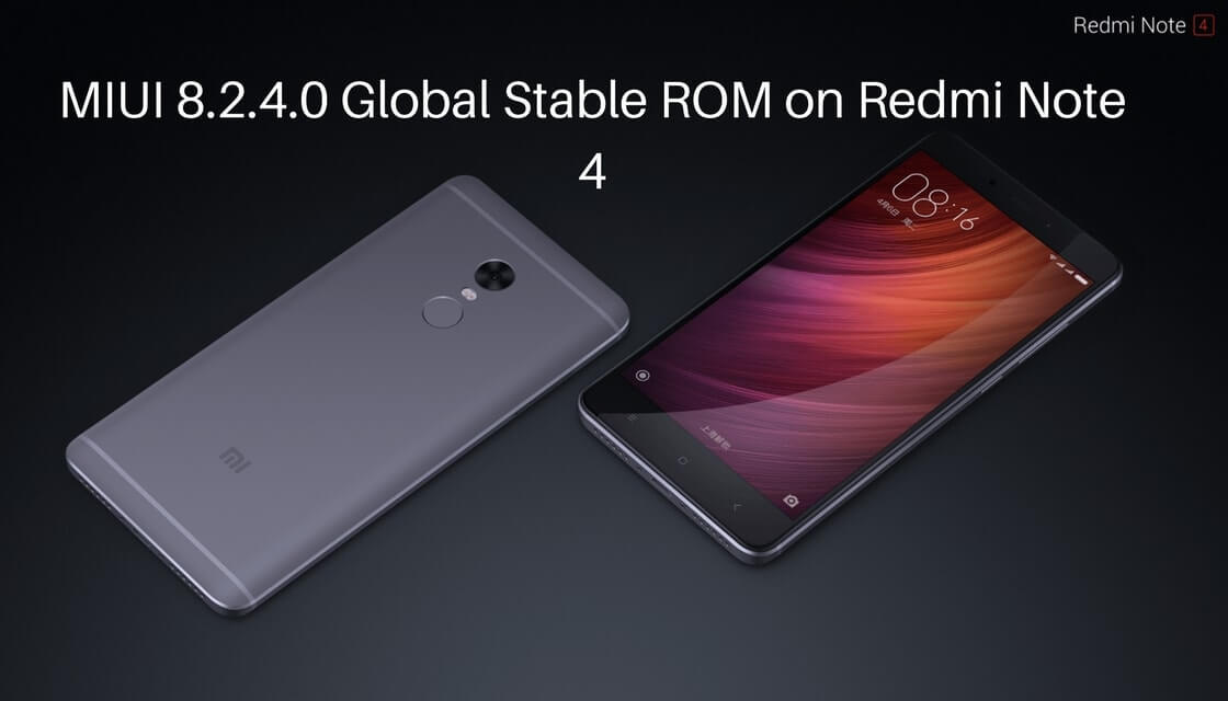 MIUI 8.2.4.0 Global Stable ROM on Redmi Note 4