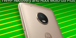 TWRP Recovery and Root on Moto G5 Plus