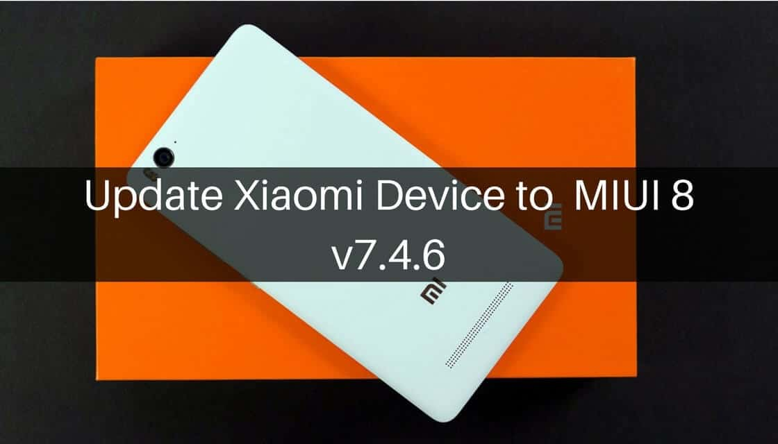 MIUI 8 v7.2.24 on Xiaomi Device