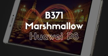 B371 Marshmallow on Huawei P8